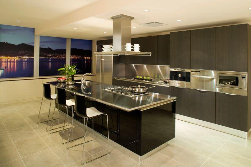 luxury kitchen penthouse condominium